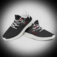 Birthday Gift Custom Warp-Knitted Print Yeezy Breathable Sports Running Sneakers