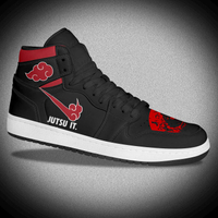 Custom NBA Team Logo Air Leather Sneakers like Jordan
