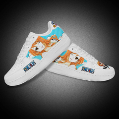 Custom Air Force 1 Microfiber Leather Casual Lady Shoes