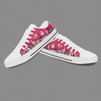 Custom Birthday Gift Canvas Print Converse Ankle Boots