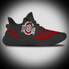 Black Color Logo CUSTOM YEEZY SHOES SNEAKERS FOR MEN WOMEN
