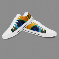 Sepatu Zapatillas Original Custom Lace-Up Vulcanized Casual Shoes